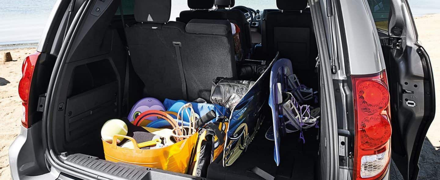 2019 Dodge Grand Caravan Interior Seats Up To 7 Passengers