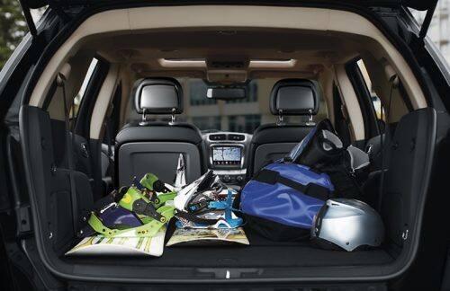 2019 Dodge Journey Interior Cargo Capacity