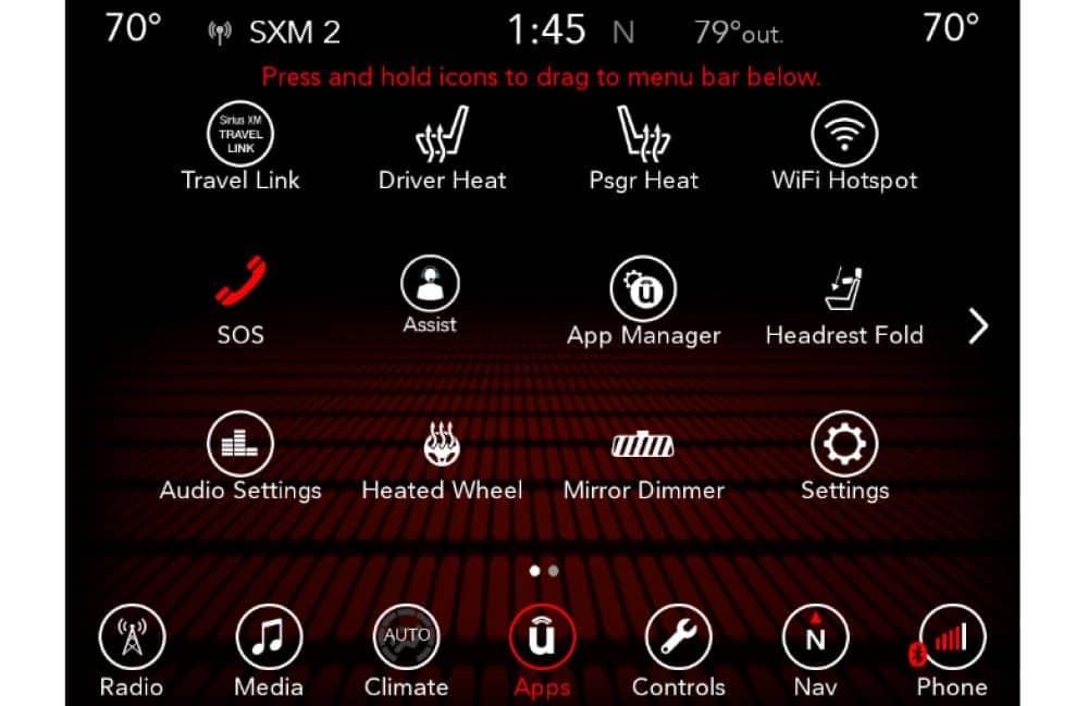 Uconnect - 2018 Dodge Uconnect 7 0/UAG