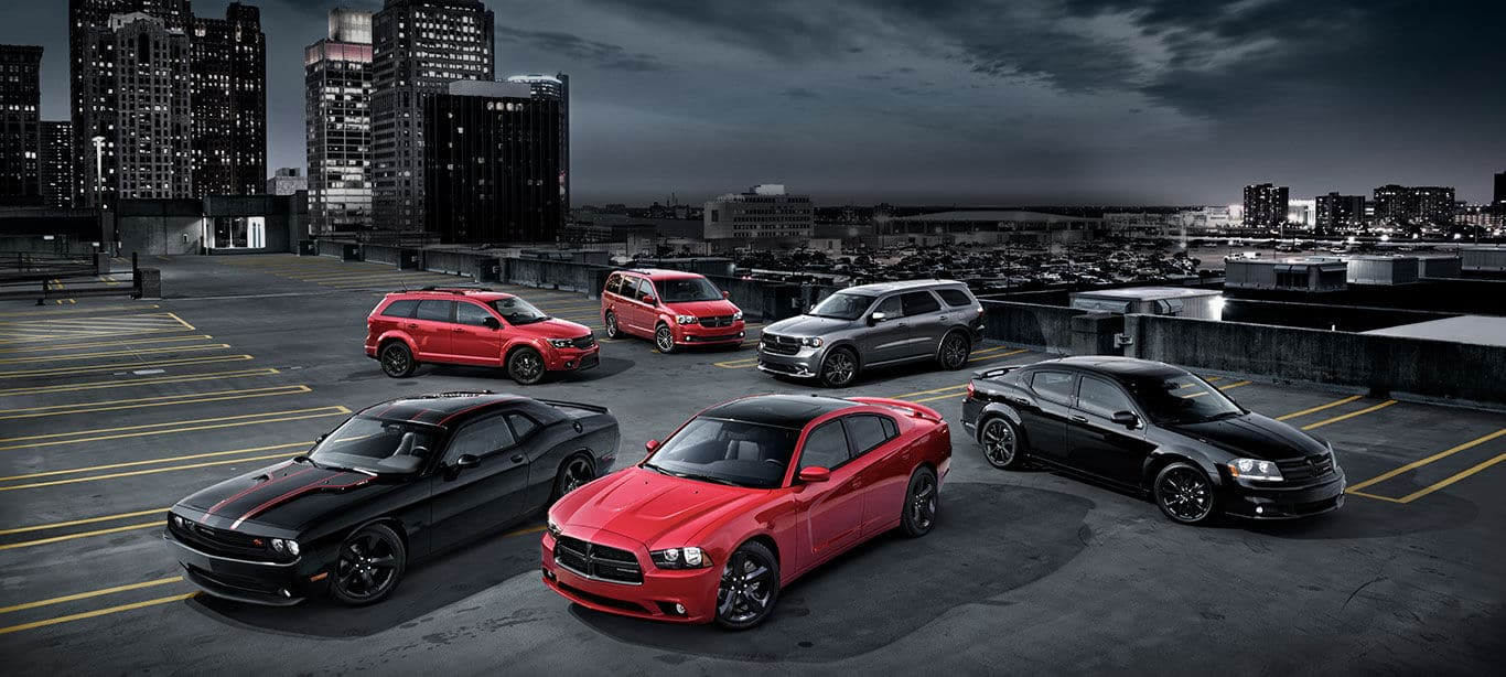 2014 Dodge Blacktop - Special Edition Blacktop Packages